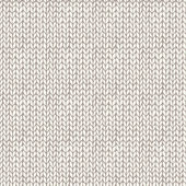 Seamless knitted hand drawn background — Stock Vector