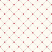 Seamless pattern  with dotted rhombus — ストックベクタ