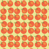 Sömlös äpplen bakgrund — Stockvektor