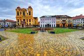 Union square, Timisoara, Romania — Stock Photo