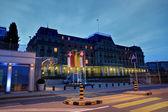 Wilson Palace, Geneva, Switzerland — Stock Photo