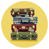 Suitcases — Stock Vector