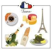 France — Stock Vector