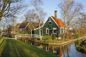 Old Dutch house in the evening light, The Netherlands — Stock Photo