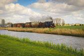 Heritage railway  Hoorn-Medemblik in Netherlands — Stock Photo