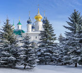View of the Monastery of St. Jacob Saviour in Rostov the Great, Russia — Stock Photo