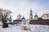View of the Monastery of St. Jacob Saviour in Rostov the Great, Russia — Stockfoto