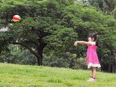 Ball spielen — Stockfoto