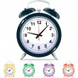 Vector alarm clock — Stock Vector #44790131