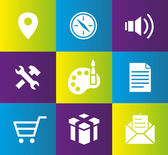 Web application icon — Vector de stock