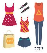 Fashion daily inspiration — Stock Vector