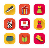 Clothes icons. — Stock Vector