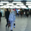 Commuter people - people in the subway - timelapse - blurred shot — Stock Video #51562289