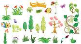 Atotal of plants — Stockvektor