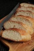 Bread, long loaf, dough — Stock Photo