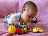 Recém-nascido — Fotografia Stock