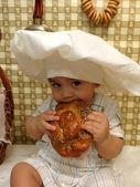Nine-month-old boy — Stock Photo