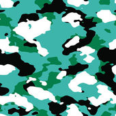 4-color Oceanic Camo Pattern — Stock Photo