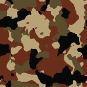 Dark brown seamless camo — Stock Photo