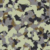 Russian frontier guard seamless camo — Stock Photo