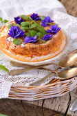 Casserole of cottage cheese — Stock Photo