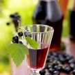 Drink of black currant — Stock Photo #51407091