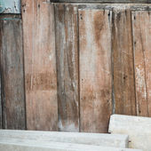 Old Grunge wooden wall texture,Tropical — Stock Photo