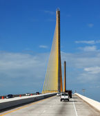 Sunshine Skyway Bridge — Stock Photo