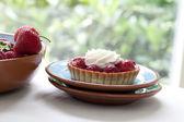 Strawberry Pastries — Stock Photo
