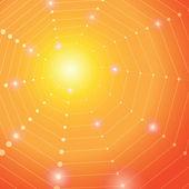 Abstract vector orange-yellow background. — Stock Vector
