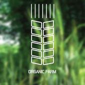 Abstract blurred background. Organic farm. — Stockvektor
