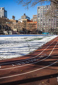 Running track New York Manhattan — Stock Photo