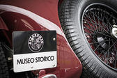 Alfa Romeo at Le Mans exhibition 2013 — Stock Photo