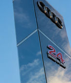 Head sculpture of Le Mans 2013 — Foto Stock