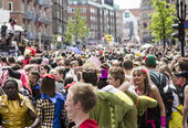 Carnival in Aalborg, Denmark, Europe — Stock Photo