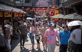 Čínská nákupní ulice — Stock fotografie