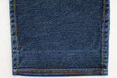 Denim Jeans texture and Stitches — Stock Photo