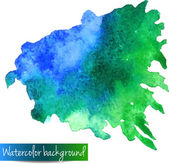 Abstract hand drawn watercolor vector background — Stok Vektör