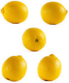 Lemon from all sides — Stock Photo