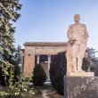 Постер, плакат: Monument of Stalin on front of the Museum of Stalin in Gori Georgia