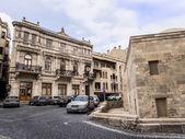 Баку, Азербайджан - 22 ноября: Ичери Шехер (Старый город) Баку, Азербайджан, 22 ноября 2013 года. Ичери Шехер является Всемирного наследия Юнеско с 2000 года. — Стоковое фото