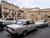 BAKU, AZERBAIJAN - NOVEMBER 22: Icheri Sheher (Old Town) of Baku, Azerbaijan, on November 22, 2013. Icheri Sheher is a UNESCO World Heritage Site since 2000. — Stock Photo