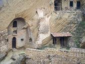 David Gareja, a rock-hewn Georgian Orthodox monastery complex — Stock Photo