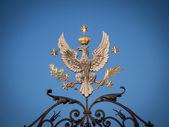 The symbol of the Warsaw University — Stock Photo