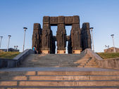 The Chronicle of Georgia (Stonehenge) in Tbilisi — Stock Photo