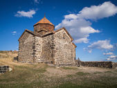 KGHZI, ARMENIA - APRIL 13: Sevanavank monastic complex on April 13, 2013. Founded in 874 Sevanavank on the Kghazi peninsula is by far the most popular tourist attraction of the lake Sevan region — Stok fotoğraf