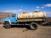 Milch-lieferwagen — Stockfoto
