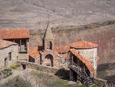 デイヴィッド gareja、岩窟グルジア正教会修道院複雑です — ストック写真