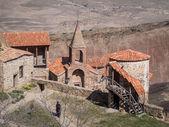David gaje, skalní gruzínské ortodoxní klášter komplex — Stock fotografie