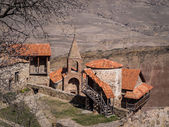 David Gareja, a rock-hewn Georgian Orthodox monastery complex — Stock Photo